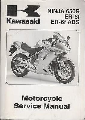 Kawasaki Ninja 650r Er 6f Abs Er 6f Motorcycle Service Manual Na