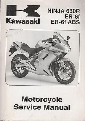 Kawasaki NINJA 650R ER-6f ABS ER-6f Motorcycle Service ...