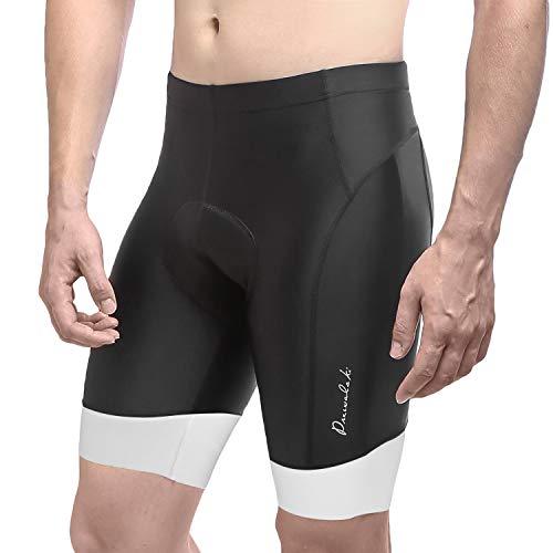 Przewalski Mens 3D Padded Cycling Shorts, Bike Biking Half Pants, Cycle Clothes...