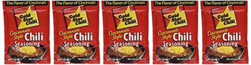 6 Pack, Gold Star Cincinnati Style Original Chili Seasoning ()