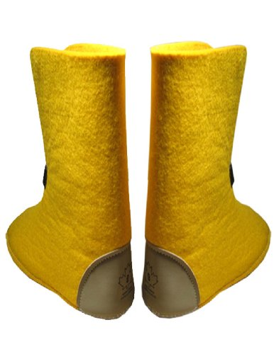 Boot Liners 624/626Y - 10 High, Sizes 1-13 Yellow