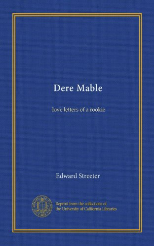 Dere Mable by Edward Streeter