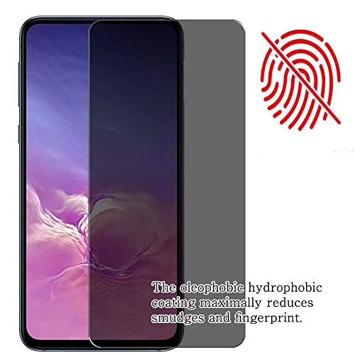 """Synvy Privacy Screen Protector Film for Samsung Galaxy Tab S5e SM-T725 10.5"""" 0.14mm Anti Spy Protective Protectors [Not Tempered Glass] New Version"""