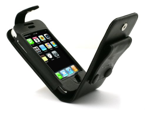 Muvit mcf3022 Schutzhülle für Smartphone Apple iPhone, Apple iPhone 3 G, Apple iPhone 3 GS, Schwarz