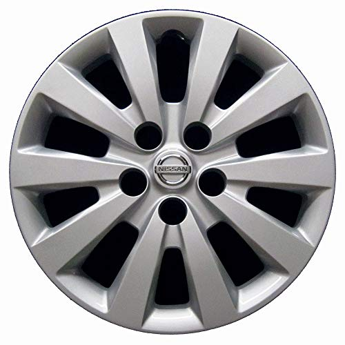 OEM Genuine Nissan Wheel Cover | Professionally Reconditioned Like New Hubcap | 16-inch Replacement Fits 2013-2017 Sentra | 53089