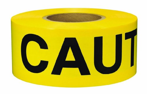 Swanson BT30CAU2 300 Feet Barricade Caution