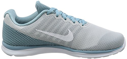NIKE Damen In-Season TR 6 Cross Trainingsschuh Reines Platin / Weiß / Mica Blue