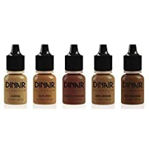 Dinair Airbrush Makeup Glamour Colour Range you choose 7.5ml also for Luminess (Hot Chocolate) by Dinair