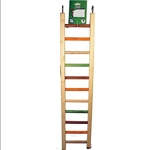 Happy Beaks Wooden Hanging Ladder