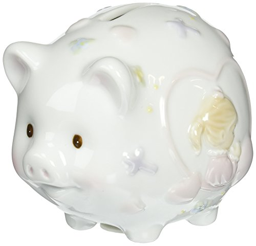 Cosmos 2036 Fine Porcelain Praying Girl Piggy Bank,