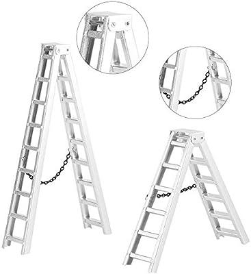 2pcs RC Fire Ladder, Herramientas de Escalera Larga de Fuego de Decoración para Coche RC: Amazon.es: Juguetes y juegos
