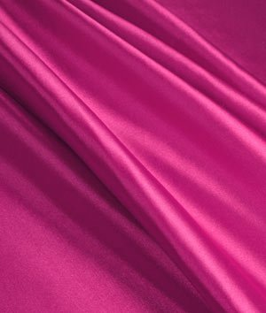Magenta Stretch Charmeuse Fabric - by the Yard by Online Fabric Store   B00I80PX6A