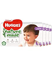 HUGGIES Platinum Naturemade Pants L 44s, 132 count (Pack of 3)