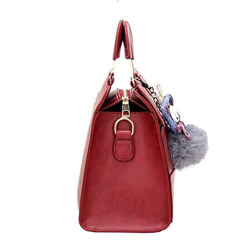 A Tasca Da A Square Tracolla Borse Donna Fashion Ciondolo Tracolla Ciondolo Forma funzionale A Da Borse Red Clutch Di Elegant Multi Da Con Donna qXpaHa