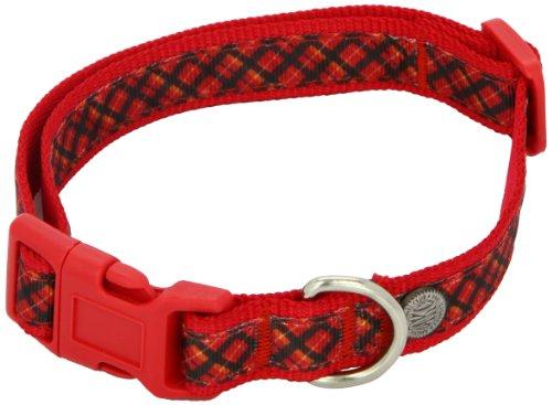 Akc Dog Collar (American Kennel Club Adjustable Dog Collar, Medium, Red)