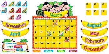 Monkey Mischief Calendar Bb (Monkey Mischief Bb Set)