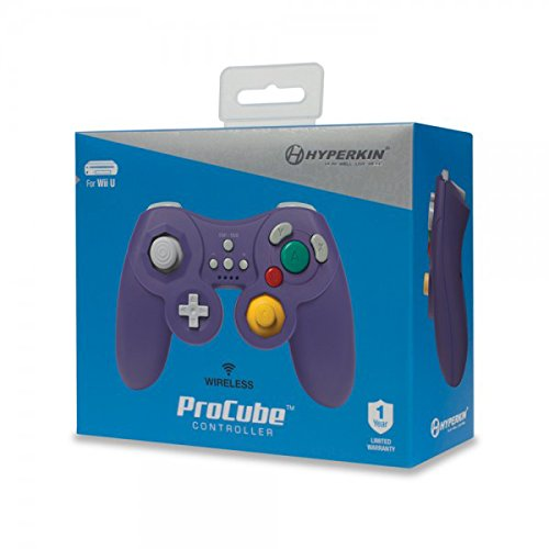 Hyperkin ProCube Wireless Controller for Wii U (Purple)
