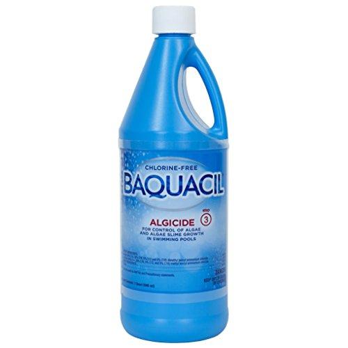 Baquacil 84326 Algicide Swimming Pool Chemical, Algaecide, Clear ()