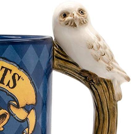 Harry Potter Hogwarts Houses Hedwig Handle 20 oz Mug Blue
