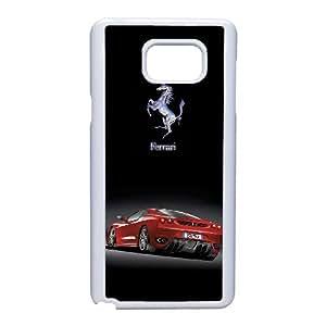 Samsung Galaxy Note 5 Phone Case Ferrari Logo Images Appearance