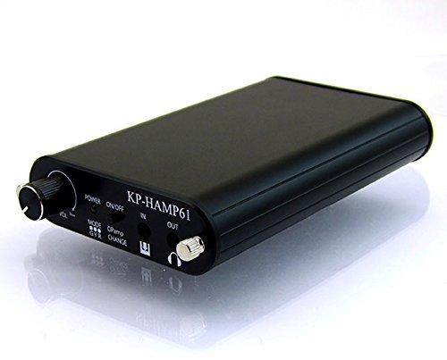 オペアンプ切り替え可能 ポータブルヘッドフォンアンプ KP-HAMP61   B015VXSO08
