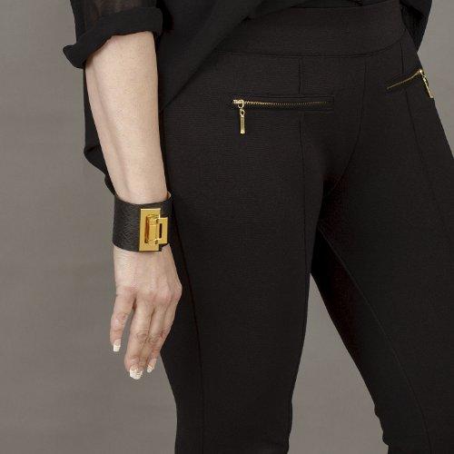 cuir de BELUCIA bracelet cuir Beige de main NOIR ZAIRE de Noir 1 Sac AVEC femme 2 porté veau de main véritable Sac GRATUIT en Super croco Offre NUORO à mouton MAT nappa BrBZfT