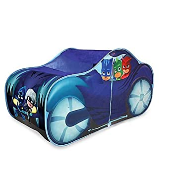Playhut PJ Masks Cat Car Play Tent, Durable Steel Loop and Polyester Binding, Twist