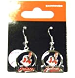 Cleveland Indians Dangle Earrings - Bar Style