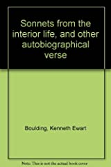 Sonnets from the interior life, and other autobiographical verse Hardcover