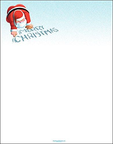 Christmas Stationery - Merry Christmas - 8.5 x 11 - 80 Sheets - Christmas Letterhead (Merry Christmas)