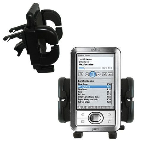 Gomadic Air Vent Clip Based Cradle Holder Car / Auto Mount suitable for the Palm LifeDrive