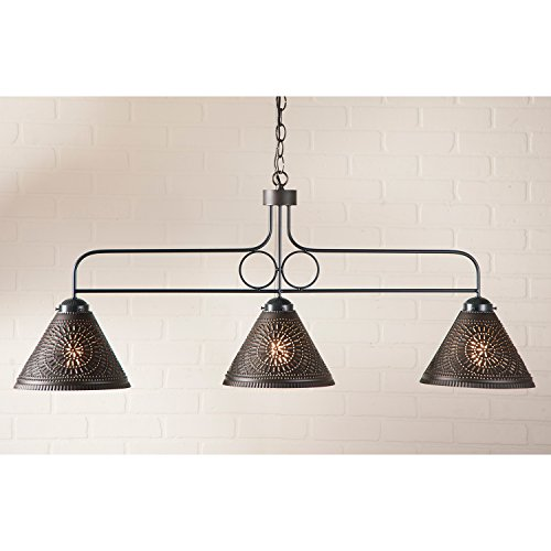 Very Attractive Design Copper Light Fixtures. Large Kettle Black Franklin Hanging Light Country Fixture  Amazon com