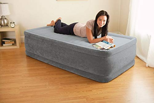 Intex Colchón Hinchable Dura-Beam Plus ComfortPlush, 137 x 191 x 33 cm, 67768, pvc