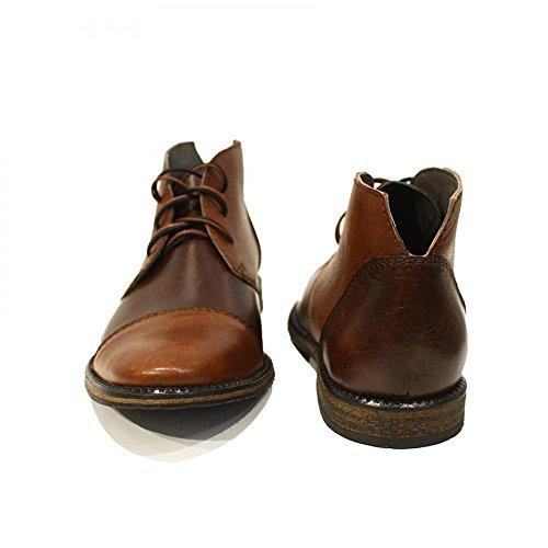 Chukka Handgemachtes Modello Weiches Stiefeletten Braun Albero Herren Italienisch Schnüren Rindsleder Leder Stiefel Leder TUagZw0q