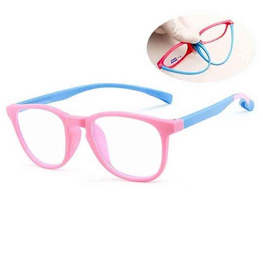 Amazon.com: Gafas de sol cuadradas para niños, con luz azul ...