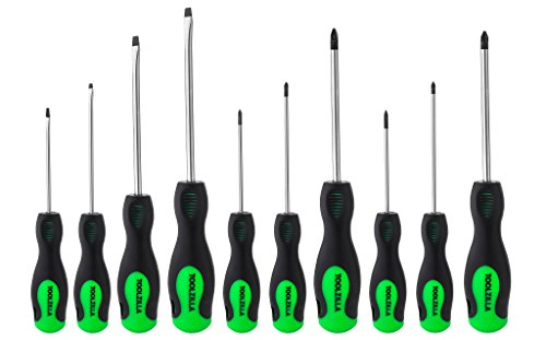 TOOLZILLA 10 Piece Magnetic Screwdriver Set