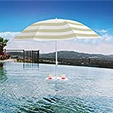 Pool Buoy Plus Floating Umbrella and Buoy - Navy...