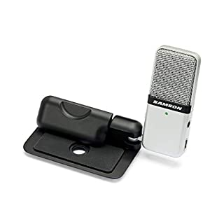 Samson Go Mic Portable USB Condenser Microphone for Recording and Streaming on Computers (SAGOMIC)