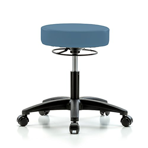 Perch Life Rolling Height Adjustable Stool For Lab Medica...