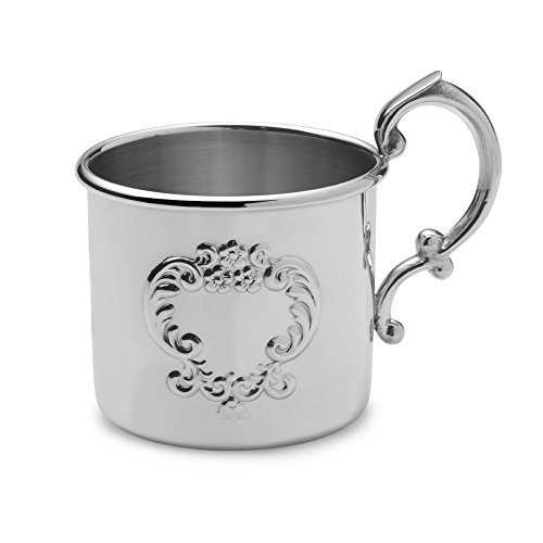 (Empire Pewter Scroll Baby Cup)