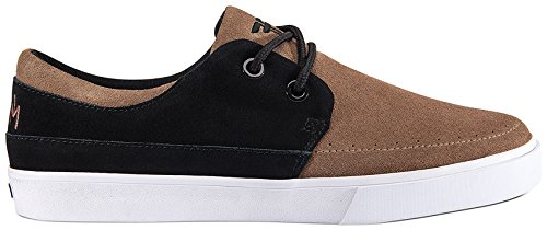 Fallen Roach Skate Shoe,Afgan Brown/Black,10.5 M US