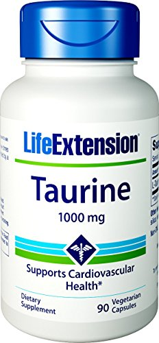Life Extension Taurine 1000 Mg 50 Capsules