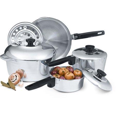 Magnalite Cookware Aluminum (Magnalite Classic 8-Piece Cast-Aluminum Cookware Set)