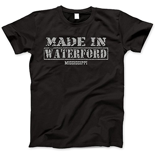 Hometown Made In Waterford, Mississippi Retro Vintage Style - In Style Waterford