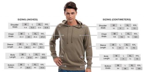 Hoodies for Men - 100% Cashmere - by Citizen Cashmere (Khaki, M) 42 112-12-02 by Citizen Cashmere (Image #5)