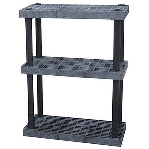 Structural Plastics Dura-Shelf Plastic Shelving With Adjustable Shelves - 36