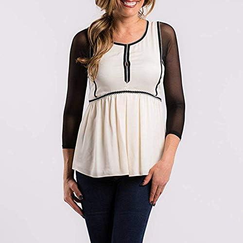 Gilroy - Camiseta básica de manga corta de malla para mujer ...
