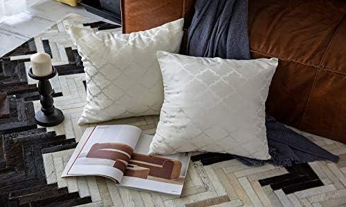 STARKWALL 2 Pack Cojines Jacquard Cubre Casa Decorativo Cojines De ...