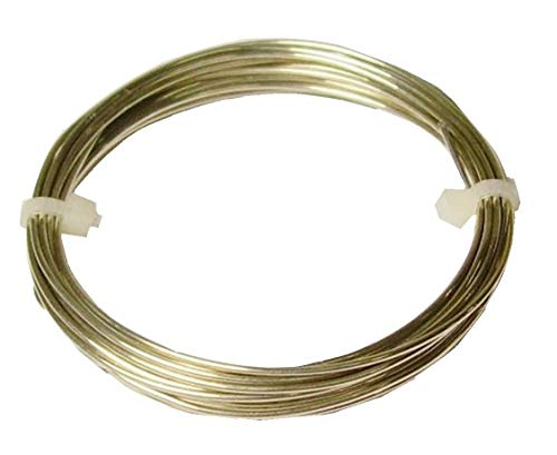 Modern Findings 14 Ga Nickel Silver Round Wire 20 Ft Coil