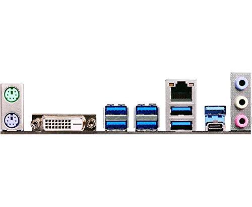 ASRock Z170A-X1/3.1 - Placa Base (Chipset Intel Z170, Socket 1151, 4X DDR4, Máx. 64GB, DVI-D, 6X SATA3, 2 PCIe 3.0 x16, 3 PCIe 3.0 x1, 2X USB 3.1 Gen2 ...